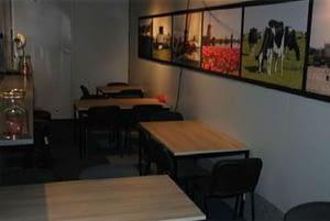 Mobiele vergaderruimte of kantoor